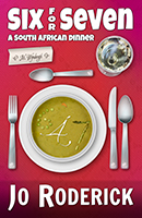 What are you served for dinner while in the company of a lecherous reverend, an aging beauty queen, a gay lottery presenter, a guru, a shrink, a few reporters, and an odd assortment of South African parodies? Why, dinner of course! The rest is just dessert! | This novel takes a quirky look at South Africa, its inhabitants, and the comedy that is politics. This is what some real South Africans are like. Some you may like, and they will be back in their own book series. | Do join us! Dinner is served, settle in, and get to know everyone at the table. | The Wynberghs are a well-to-do family. Rachel loves to socialise and throw fund-raisers, while her husband, Mervin loves to avoid them. Tonight, you will meet their guests. Tom Scandari and Annie Wynbergh have a long-standing friendship that could blossom at any minute. Annie's parents are determined to see her married and the pressure is on. This couple's story continues into the series, 'The Scandari Saga', where Tom discovers the 'Aeonosphere' and travels through time. Leticia and her husband Bingo are old friends of the family and have a marriage of convenience. Perhaps it is time they re-evaluated their relationship. The Reverend has ulterior motives, and he arrives with a plan. A fund-raiser is an excellent way to fill the coffers. The Guru has a few moves up his robe that leave Leticia panting. Can the socialite resist his magical charm or will she succumb to his poetic tongue? Katherine and Ewyn tell an amusing tale involving a bloody axe. They both poke fun at each other and Katherine's children, the monkeys. Will Kathy and Mary venture beyond holding hands and go on a first date? Will Gareth's head ever stop spinning like the balls of the lottery? Will Bingo hit the gay jackpot? It's just a day in the diary of typical South African ... or is it? | Genres: Humour/Humor; Satire; Comedy; Parodies; Political; British English; | Concepts: South Africa; Socialite; Liberal; Hijacking; Dinner; Liberal; Friendship; Dating; Relationship; Wedding; Love; Secrets; Legacy; Mystery; Crime; Corruption; Gay; Lesbian; Religion; Taboo; Johannesburg