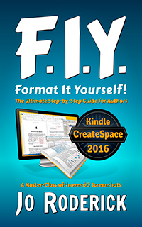 Format It Yourself is a Step-by-Step guide, specifically written and illustrated to help authors format their books. Whether you are publishing through CreateSpace, Kindle, or any other outlet, one of the greatest challenges is preparing and typesetting the book. This formatting manual is an in-depth typesetting Master-Class with over 60 Screenshots for guidance.